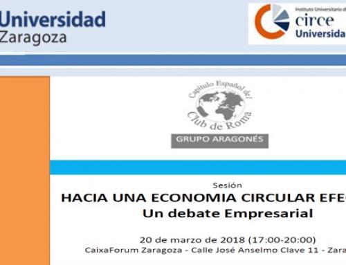 Jornada «Hacia una economía circular efectiva» 20/03/18