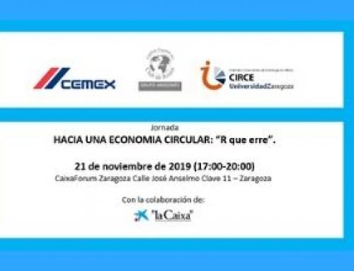 El próximo 21 de noviembre se celebra la Jornada Hacia una economía circular: R que erre