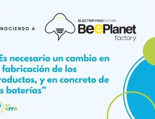 """BeePlanet Factory: """"Es necesario un cambio en la fabricación de los productos, y en concreto de las baterías"""""""