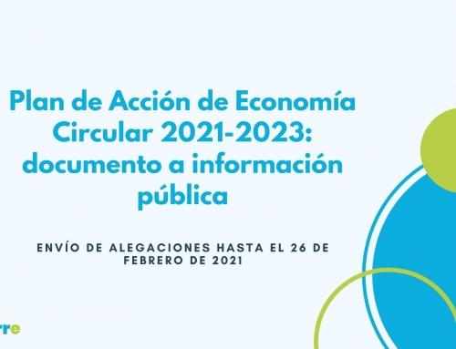 Plan de Acción de Economía Circular 2021-2023: documento a información pública