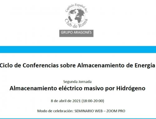Jornada Almacenamiento Eléctrico Masivo por Hidrógeno
