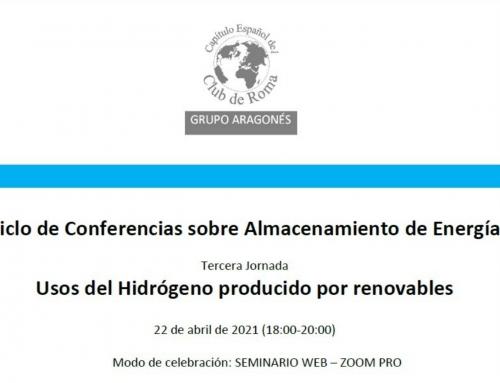 Jornada Usos del Hidrógeno producido por renovables