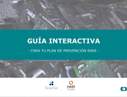 Guía interactiva: «Crea tu plan de prevención de RAEE»